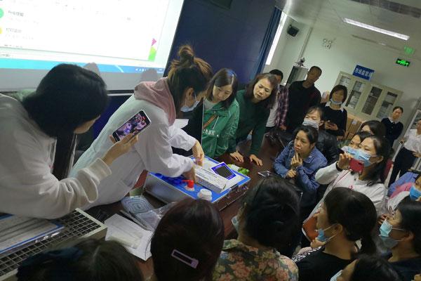 <b>恒美科技农残仪走进广西南宁市场监督局</b>