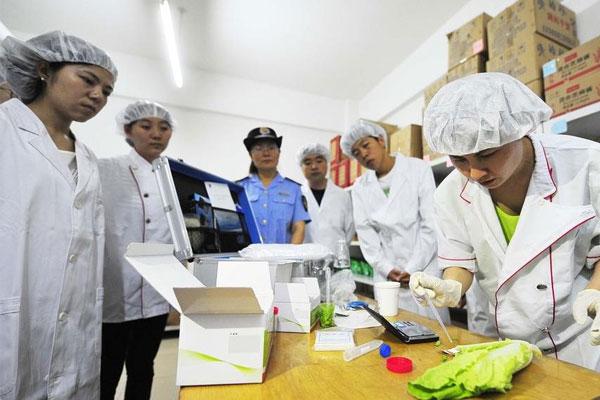食品检验仪器设备清单
